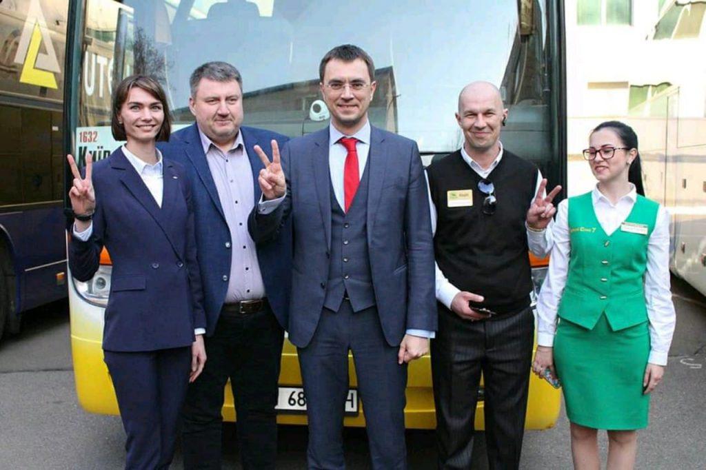 компанія Зелений Слон 7, новий автобус, комфорт, безпека, купити квиток онлайн