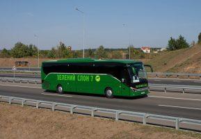 Комфорт у автобусах Зелений Слон 7.